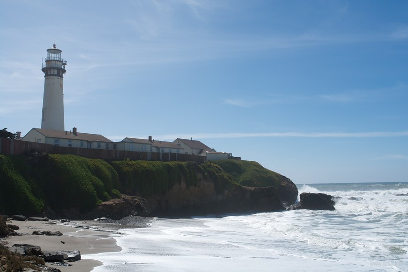 Pigeon Point Lighthouse Hostel.