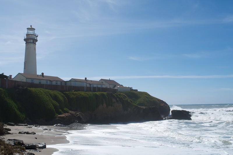 Pigeon Point Lighthouse Hostel.