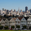 Victorian Houses - the most photographed view in San Francisco