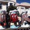 Doggie Diner heads. All that remains of the Doggie Diners.