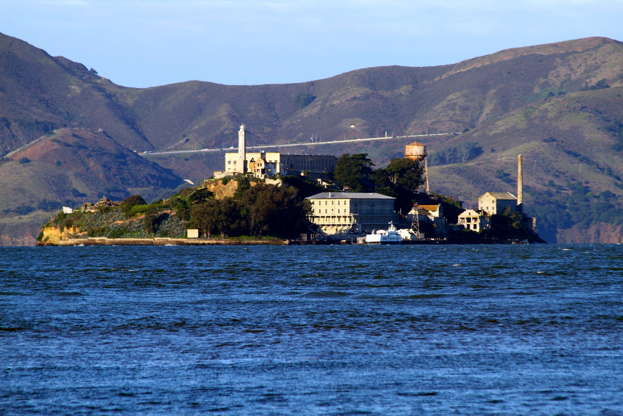 Alcatraz from Treasure Island
