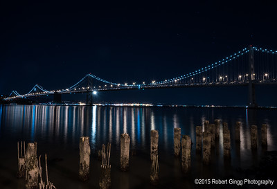 Starry Night over the Bay Bridge