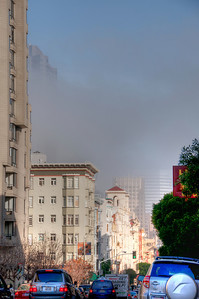 foggy-san francisco-hdr