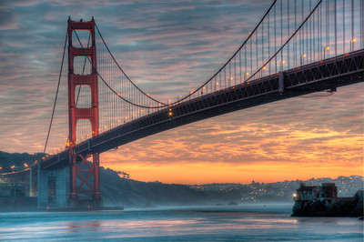 golden gate bridge-sunset-hdr-06