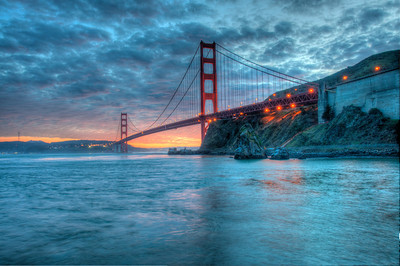 golden gate bridge-sunset-hdr-03-