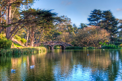 park-lake-bridge