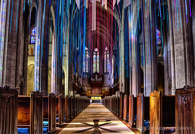 Grace Cathedral Interior 1