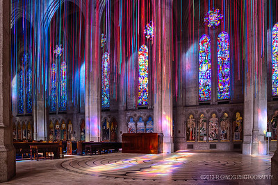 Grace Cathedral Interior 4