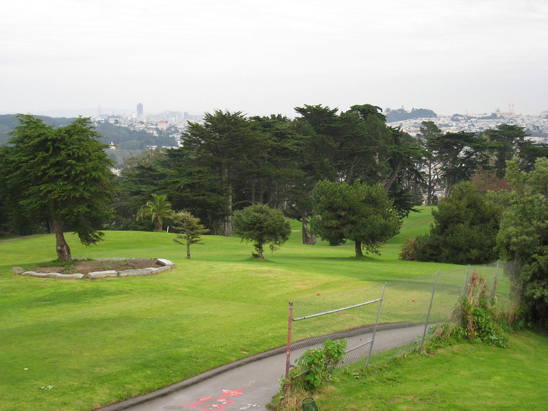 Golf course at Legion of Honor