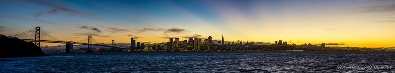 SF Skyline Panorama