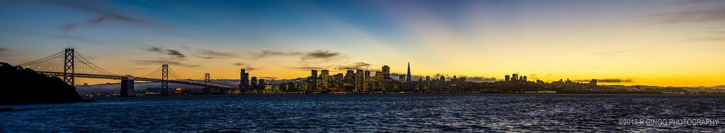 SF Skyline Panorama