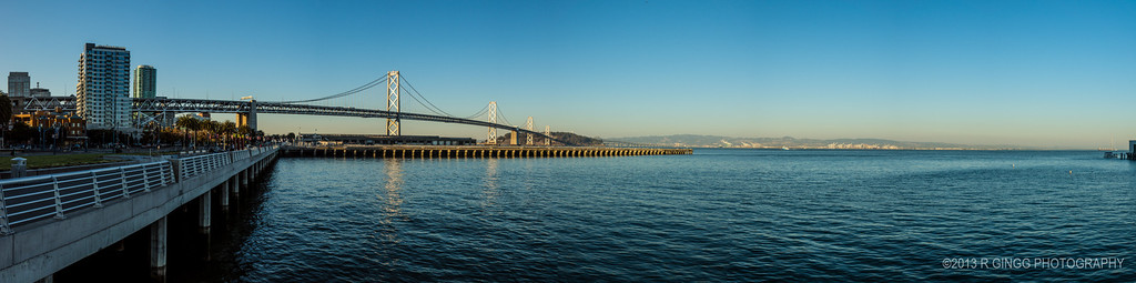 Bay Bridge Panorama