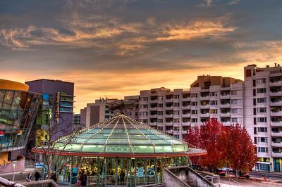 city-sunset-hdr