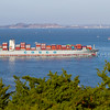 Container Ship San Francisco Bay1228