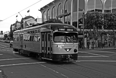 Street Car, SF CA, 2012