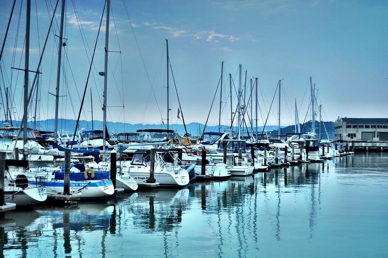 Boats at Pier 39