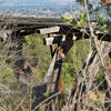 Almaden Quicksilver Historic Trail : This great park, just a few miles from my house, was the site of considerable Quicksilver mining from the mid 1800's until 1976 (Quicksilver is the source rock for Mercury). Since being made aware of this Park's existence by a fellow hiker in my neighborhood, I have been hiking it a lot in the last couple months. It seemed fitting to take the Historical Trail as my first Photo Excursion into the park (first of many more). The Historical trail is a combination of trails and has been laid out and annotated in a informative brochure by a local Boy Scout Troop. I took a somewhat altered version,but I still hit all the highlights. All throughout the park there is still quite a bit of remaining mining equipment and buildings but this particular route has a very high concentration. It even includes a restored mine shaft you can walk into for a short  way.  Also some great scenery. Due to the fairly large elevation changes, this walk, along with most of the trails in the Park, is probably not for the casual walker.
