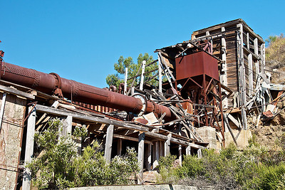 Rotary Furnace - Many great photo opps here but hard to realize them as there was a 7 ft. tall fence around the whole thing.