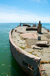 At some point in Naval history someone thought it would be a good idea to build a boat made of concrete.