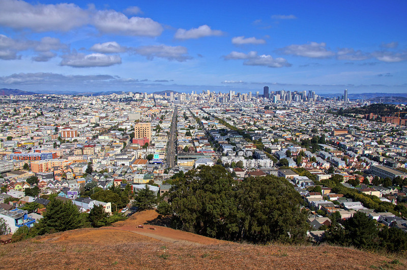City from Bernal Hill