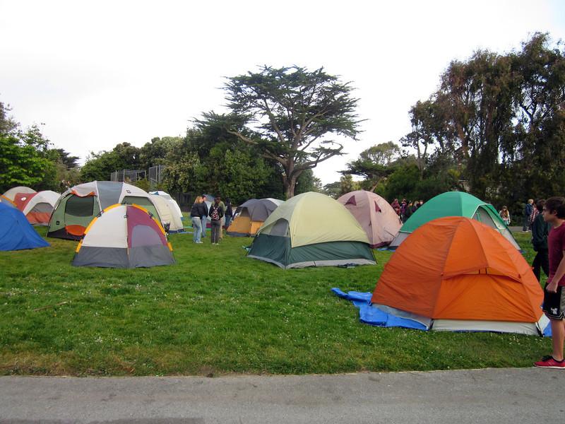 Tent City, San Francisco zoo