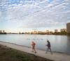 Brisk Morning Walk around Lake Merritt, Oakland CA
