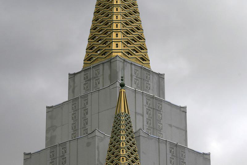 Mormon Temple Detail, Oakland CA