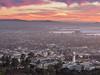 UC Berkeley, Emeryville, and Downtown Oakland Sunset, Berkeley CA