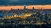 Downtown Oakland and San Francisco After Sunset