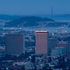 Dawn Spotlight on Kaiser Building