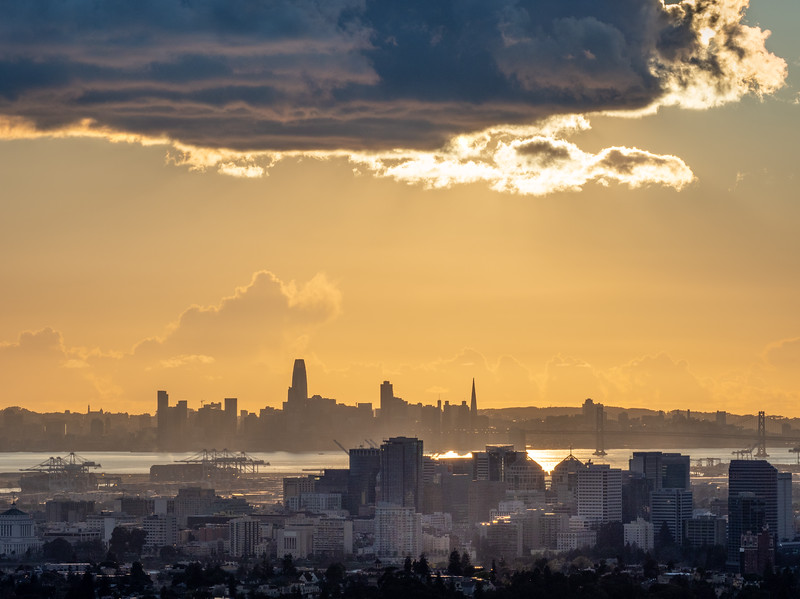 Oakland and SF under Big Cloud