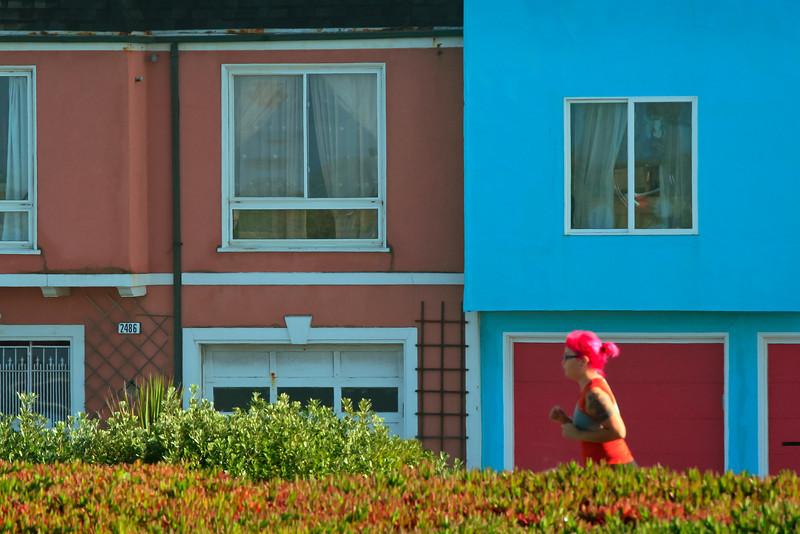 Colorful Scene, San Francisco CA