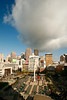 Union Square and Big Cloud, San Francisco CA