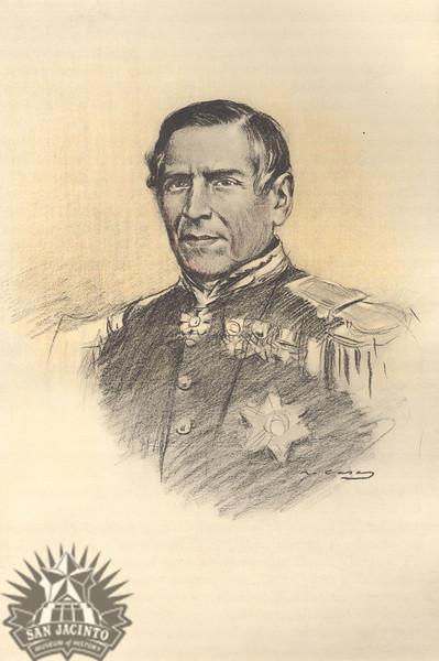 Don Juan N. Almonte, from Juárez, su obra y su tiempo, 1905.
