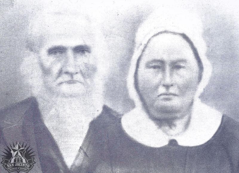 Joseph Lindley and his wife Nancy Ann Hicks