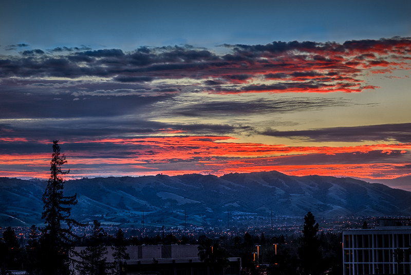 San Jose Sunrise, 6 February 2015