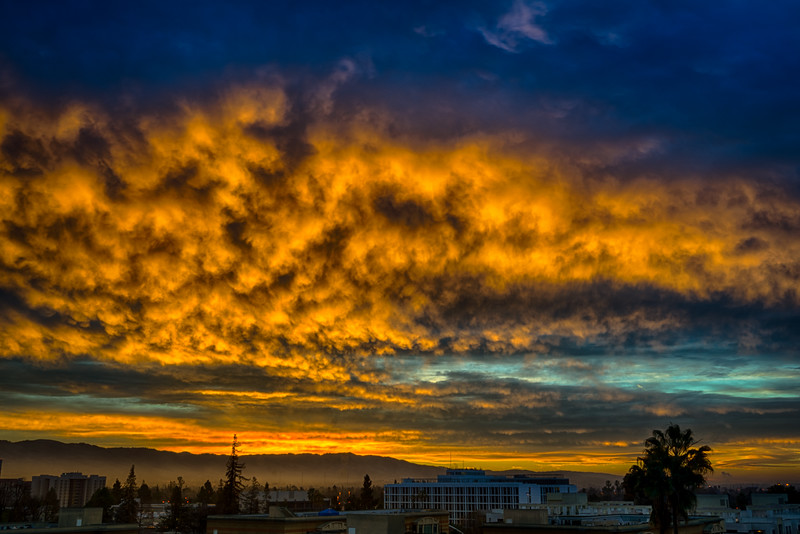 San Jose Sunrise, 5 February 2015