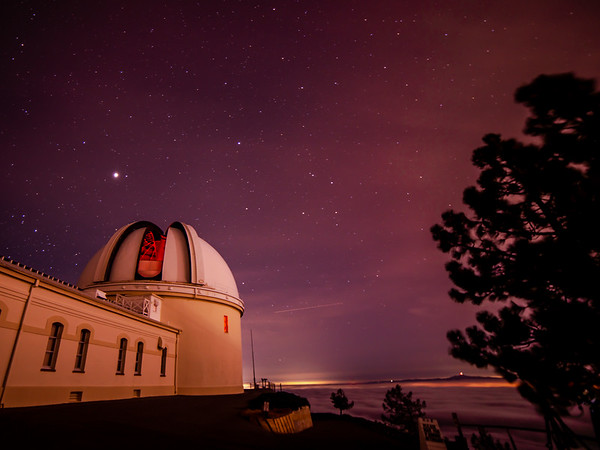 The Lick Observatory Opens Itself to the Heavens