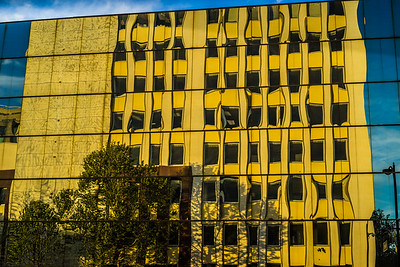 Reflections in Downtown San Jose