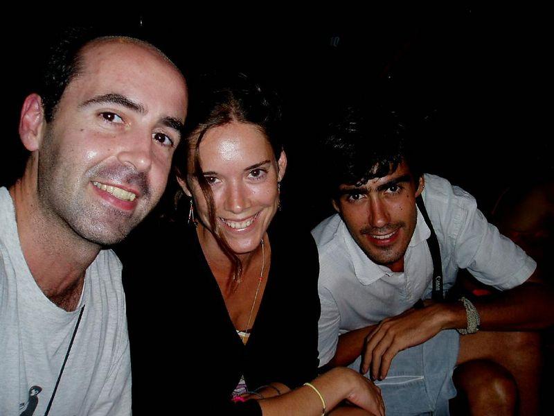 Agosto '03<BR>Con Virginia e Inaki