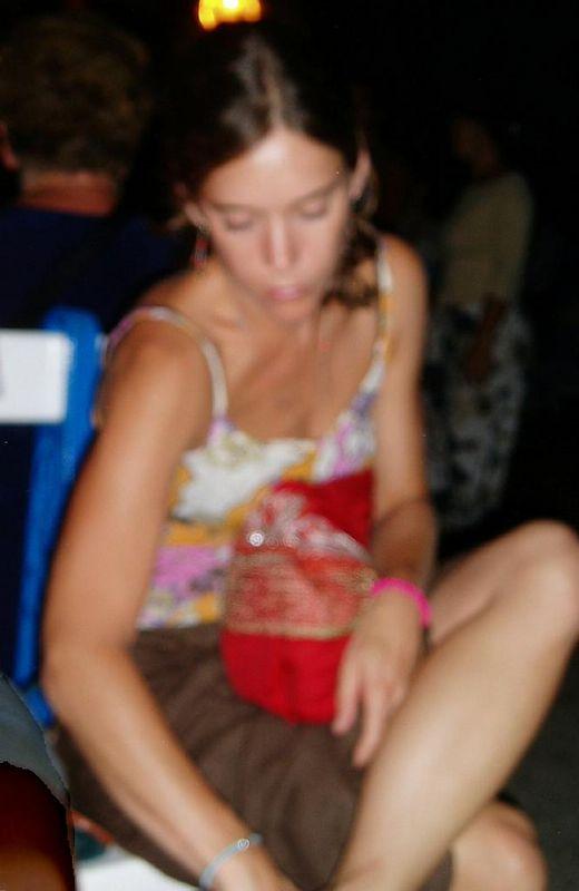 Virginia<BR>Agosto '03 en San Sebastian