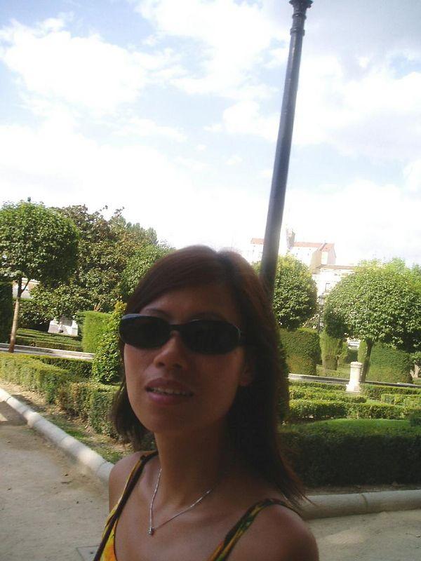 Agosto '03<BR>Su Hua en Madrid