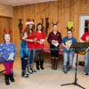 Christmas Carols on the Farm, at the Sanborn-Lewiston Farm Museum, December 17, 2016.