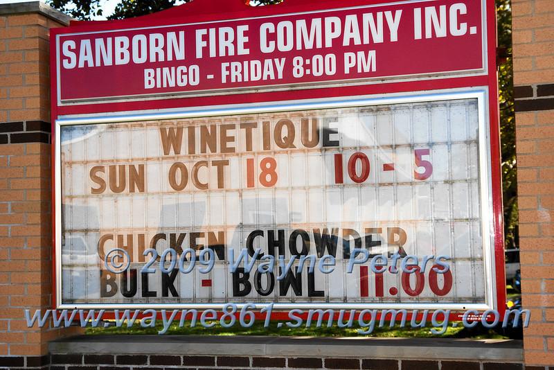 Winetique 2009, Sanborn, N.Y.