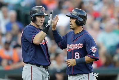 Twins Tigers Baseball
