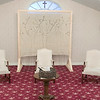 A former funeral home on Main Street in Ashburnham has been converted into the Sanctuary Ministries Center. This room was set up for a theater performance on Friday, Nov. 8, 2019. SENTINEL & ENTERPRISE/JOHN LOVE