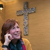 A former funeral home on Main Street in Ashburnham has been converted into the Sanctuary Ministries Center. Paster Debbie Maylan talks about their new place on Friday, Nov. 8, 2019. SENTINEL & ENTERPRISE/JOHN LOVE
