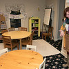 A former funeral home on Main Street in Ashburnham has been converted into the Sanctuary Ministries Center. Paster Debbie Maylangives a tour of their new place on Friday, Nov. 8, 2019. This was their kids room. SENTINEL & ENTERPRISE/JOHN LOVE