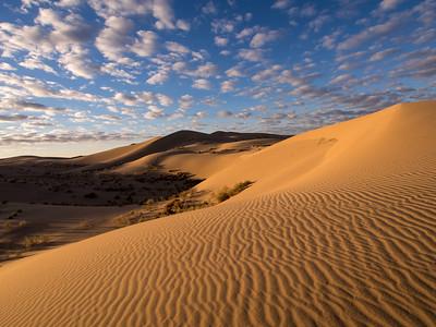 Cadiz Dunes - Sunrise 12.4.13