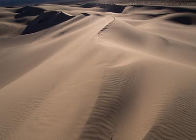 Eureka Dunes - Death Valley 01.17.14